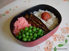 Culinary Adventures and More : Anime Food Re-creation: Mei's Bento from My Neighbor Totoro