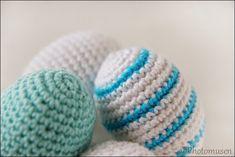 Photomusen: DIY - Hæklet æg (grundopskrift) Diy Crochet, Crochet Projects, Crochet Patterns, Basic Recipe, Crochet Pattern, Crochet Tutorials, Crocheting Patterns, Crochet Stitches Patterns