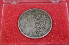 1884 Morgan Silver Dollar,Collectible USA Coin by pasttimejewelry, $50.00