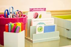 Home Office Organization | Office Depot | Bright Bold and Beautiful
