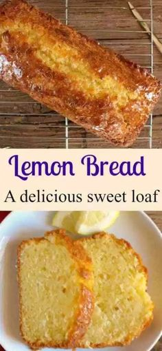 A tangy delicious sweet Easy Lemon Bread Recipe. A moist sweet homemade loaf wit… A tangy delicious sweet Easy Lemon Bread Recipe. A moist sweet homemade loaf with a simple glaze, perfect for every occasion. Loaf Recipes, Bread Machine Recipes, Easy Bread Recipes, Cooking Recipes, Easy Homemade Bread, Pudding Recipes, Breakfast Bread Recipes, Simple Bread Recipe, Lemon Recipes Easy