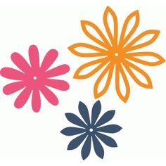 Silhouette Design Store: 3 mix & match flowers