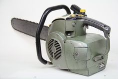 Old and beautiful! The Pioneer 550 chainsaw.