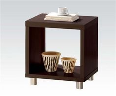 Redland Espresso Wood End Table