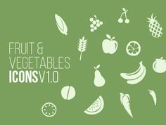 Free Vector Fruit Icons V1.0
