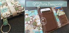 Aprende a hacer este fácil y práctico porta pasaporte! Ideal para viajar y tener a la mano las cosas importantes que necesitamos para un viaje ;) Dale click al link para verlo => http://creativaofficial.com/diy-porta-pasaporte/