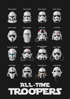 This was/is my favorite movie. I loved Star Wars growing up. I still like to watch it when it come on TV. I even have a star wars shirt I wear to bed. Star Wars Film, Simbolos Star Wars, Star Wars Party, Star Wars Helmet, Clone Trooper Helmet, Storm Trooper Costume, Images Star Wars, Star Wars Pictures, Meme Pictures