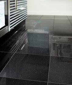 Polished Granite Black Galaxy (30.5x30.5cm) Tile | Topps Tiles | 28 ...