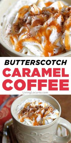 Butterscotch Caramel Coffee Recipe Easy Butterscotch Caramel Coffee Recipe makes the perfect drink for cold nights! Free printable recipe card for a fall party coffee bar. Fun idea for Thanksgiving, Christmas or any holiday party. Espresso Recipes, Coffee Drink Recipes, Coffee Drinks, Iced Coffee, Coffee Bar Party, Coffee Dessert, Jelly Recipes, Dessert Recipes, Party Recipes