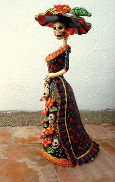 Catrina Coqueta. Tenho q ir ao México e voltar com um carregamento de catrinas.