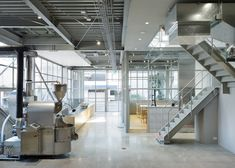 Schemata Architects inserts coffee shop into Tokyo warehouse