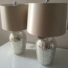 leopard print lamps