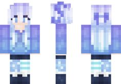Starry Light Sky Minecraft Skin
