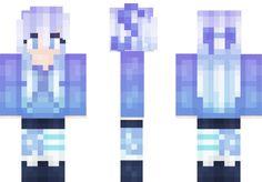 Starry Light Sky Minecraft Skin