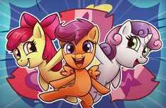 Cutie Mark Crusaders by ChrisWithATa.deviantart.com on @DeviantArt