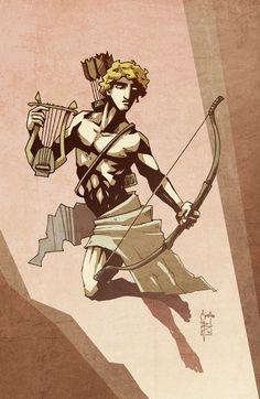 Apollon by Bubaben on deviantART. Tags: apollo, apollon,
