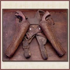 in case you go hunting and forget your bow...... Gunrig 1870s Slim Jim Holster