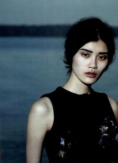 Ming Xi in Vogue China September 2010 by Peter Lindbergh