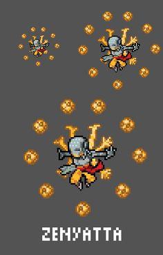 [Pixel Art] - Tekhartha Zenyatta Overwatch Sprite Twitter:  pic.twitter.com/oFKvdCU5WL