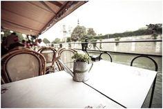 Trentieme Etage river seine in Paris the setting for a riverside wedding #wedding #france