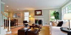 Cape Cod Remodel - traditional - Family Room - Chicago - A. Perry Homes