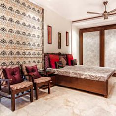 Pandhi's residence: classic by hands on design,classic | homify House Hall Design, Bungalow House Design, Home Room Design, Home Interior Design, Best Recliner Chair, Stairs In Living Room, Beautiful House Plans, Luxury Homes Interior, House Rooms