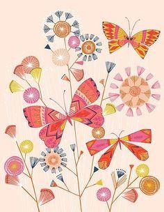 butterfly garde-n Janine Bathan