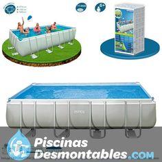 piscina intex circular serie metal frame la estructura est formada por unos tubos met licos y. Black Bedroom Furniture Sets. Home Design Ideas