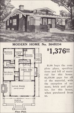 Classic Craftsman Bungalow - Sears Modern Home No. 264B234 - Inglenook - Hollywood