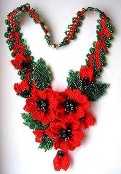 Beautiful jewelry with Poppy elements | Beads Magic