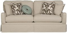 Vanguard Furniture: V7SS2DD Remy Sofa without skirt Overall:W 82 D 41 H 39 Inches   Inside:W 71 D 23 H 17 Inches