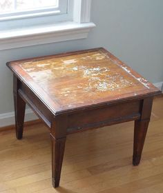 Finding a thrift store table ASAP!