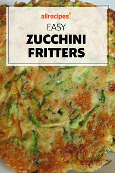 "Easy Zucchini Fritters | ""Great idea to use up garden zucchini!"" #easy #easyrecipes #quickandeasy #easyrecipesideas Healthy Soup Recipes, Brunch Recipes, Vegetarian Recipes, Cooking Recipes, Easy Recipes, Easy Meals, Other Recipes, Side Dish Recipes, Side Dishes"