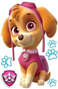 HOT Ryder Paw Patrol anime wall decals Dog vinyl stickers for kids rooms Skye Paw Patrol Costume, Skye Paw Patrol Cake, Paw Patrol Cake Toppers, Skye From Paw Patrol, Ryder Paw Patrol, Sky Paw Patrol, Paw Patrol Bedroom Decor, Paw Patrol Wall Decals, Wall Sticker