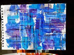 Abstracto azules
