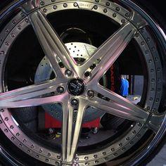 coast2coastrims DUB split 5 star wheels brushed