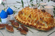 Koulibiac moelleux au saumon et citrons confits (Russie)