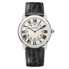 Cartier Ronde Quartz Solo 36mm dames W6700255