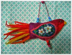 Baba Yaga: Felted Birds