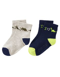 Dino Socks Two-Pack at Gymboree Collection Name: Desert Explorer (2015)