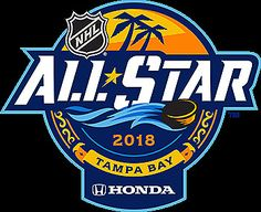 EST January 2018 The best hockey players in the world are coming to Tampa this weekend for the NHL All-Star Game.The game will be Sunday at Amalie Arena, but there's much more go… Logo All Star, Nhl All Star Game, Badge Design, Logo Design, Beer Label Design, Hockey World, Hockey Quotes, Event Logo, E Sport