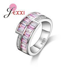 925 Sterling Silver Elegant Wedding Rings
