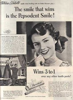 Pepsodent's Tooth Paste (1948)