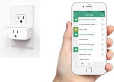 Simple home automation control using iHome's Control ISP5 Smart Plug