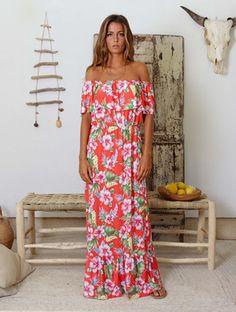 Nova Colecção Vintage Bazaar 💓💓 Vestido Comprido com um PADRÃO SUPER GIROO!!
