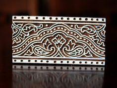 Printing & Graphic Arts Precise Dear Decorative Wooden Printing Blocks Stamp Hand Textile Brass Block Pattern