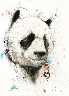Panda Drawing #panda #drawing