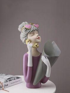 Selena Flower Vase – fourlinedesign Flower Vases, Flowers, Selena, Disney Princess, Deco, Disney Characters, Bud Vases, Florals, Vase