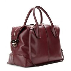 Tod's D-Styling Bauletto  Leather Tote