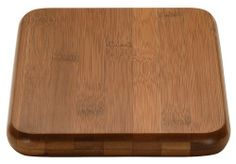 """MIU France Bamboo Cutting Board, 6"""" x 8"""" by MIU France. $9.99. Handcrafted cutting board. Should be rinsed with warm water. Made of first-grade, end-grain bamboo. Durable and beautiful; 17% denser than maple wood. Product measures 6 inches by 1 inch by 8 inches. Our premium select grade of bamboo is 18% harder than rock maple, making it a superior material for cutting boards and home products. And, it's a totally sustainable natural resource. After harvesting bamboo it grows bac..."""